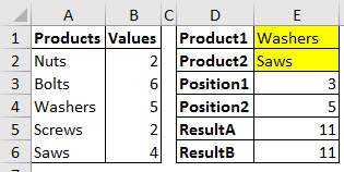 Sum the range between two INDEX-MATCH results.