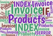 This simple invoicing system allows you to keep a list of products and prices in Excel, then use VLOOKUP or INDEX-MATCH to populate an invoice with the item and quantity you choose.