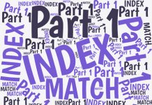 INDEX-MATCH is Excel's most-powerful lookup method. But many users find it challenging. This is the first of a three-part series designed to INDEX-MATCH clearer.