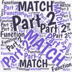 The MATCH function makes the INDEX function useful. This is the second of a three-part series designed to INDEX-MATCH clearer.