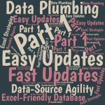 Excel offers two powerful worksheet functions that can return just the data you need from Excel Tables.