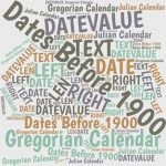 If you work with dates prior to 1900, Excel offers little direct help. However, some Excel formulas and a free macro can provide much of the help you need.