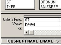 The prompt string is in square brackets in the Value field.