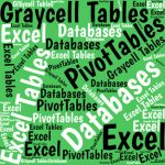 Excel offers at least three ways to set up data so your reports and analyses can use it easily as a reliable data source.