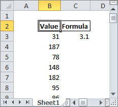 An example of a common copy-and-paste challenge in Excel