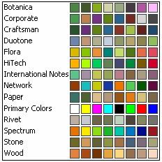 Excel 2003 Colors