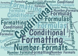 Here's how to use a formula that returns TRUE or FALSE in Excel's conditional formatting feature to highlight rows that contain specific numbers or text.