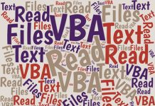 Read a Text File with VBA in Excel, and Write the Text to a Spreadsheet
