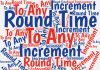 With the help of three functions most Excel users seldom use -- INT, MOD, and CEILING -- you can round Excel time values to any increment you want.