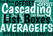 You can set up cascading list boxes so that your second list of items changes depending on which item you selected from the first list. Here's how to do it.