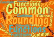 Excel's four better-known functions for rounding numbers are: INT, ROUND, ROUNDUP, and ROUNDDOWN. Here's how to understand and use them in your Excel work.
