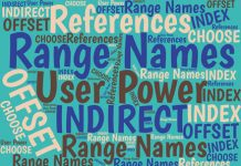 Excel's range names offer great power and flexibility. And they're not hard to use. Here's an introduction to the power that Excel provides.