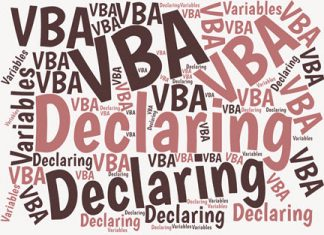 In VBA, you'll save time and frustration by always declaring your variables and by also using Hungarian notation. Here's why and how to do that.