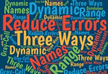 Simple spreadsheet edits can introduce costly Excel errors. Here are three techniques that can help you to reduce your errors in Excel.