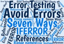 Excel has a reputation for having many errors in reports and analyses. But you can use simple methods to reduce errors significantly. Here are seven of them.