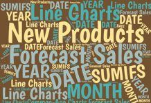 To improve forecasting, you can use Excel charts to track how quickly new products, stores, sales people, and so on ramp up their performance compared with similar launches in the past.