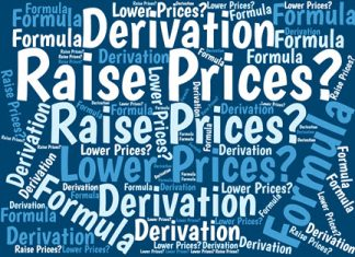 Here's how I created the formula that calculates the breakeven sales volume for a prospective change in product prices.