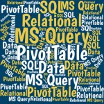Excel ranges can work like relational tables. You can join them by common fields. Query them with SQL. And use queries in PivotTables. Here's how.