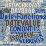 This table summarizes the performance of Excel's worksheet functions primarily designed to work with dates