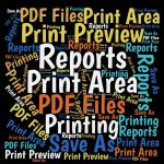 A great way to distribute Excel reports is as a PDF file. Then you distribute the file. Here's how to save any number of Excel reports to one PDF file.