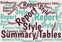 Summary tables in Excel reports have always been difficult to format so they don't LOOK like Excel tables. Here's one extreme method you might want to try.