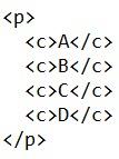 XML Showing a Parent-Child Relationship