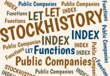 Excel's STOCKHISTORY function can return decades of history about the prices of stocks for thousands of public companies from many countries. Here's an introduction to that function.