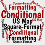 How to Set Up a Square-Format U.S. Map in Excel