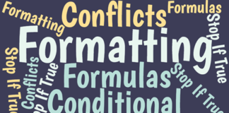 When conditional formatting rules conflict, Excel can deliver unexpected formatting results. These two guidelines make Excel's logic clear.